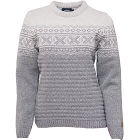 Ivanhoe of Sweden Jorunn Crew Neck Trui Dames, grey marl